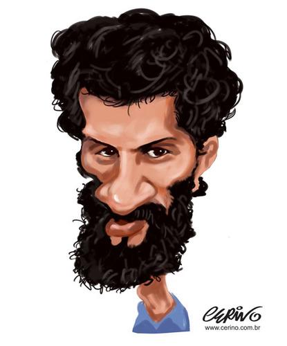 Caricatura de André Cerino