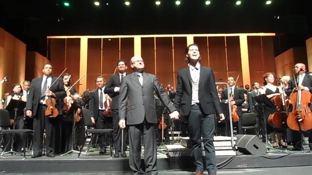 Maestro Roberto Tibiriçá e Filipe