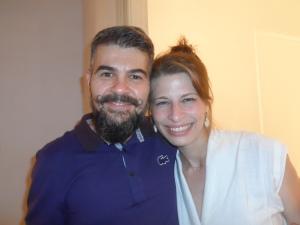 Thamy e Vicente Negrão-Assessor de Imprensa