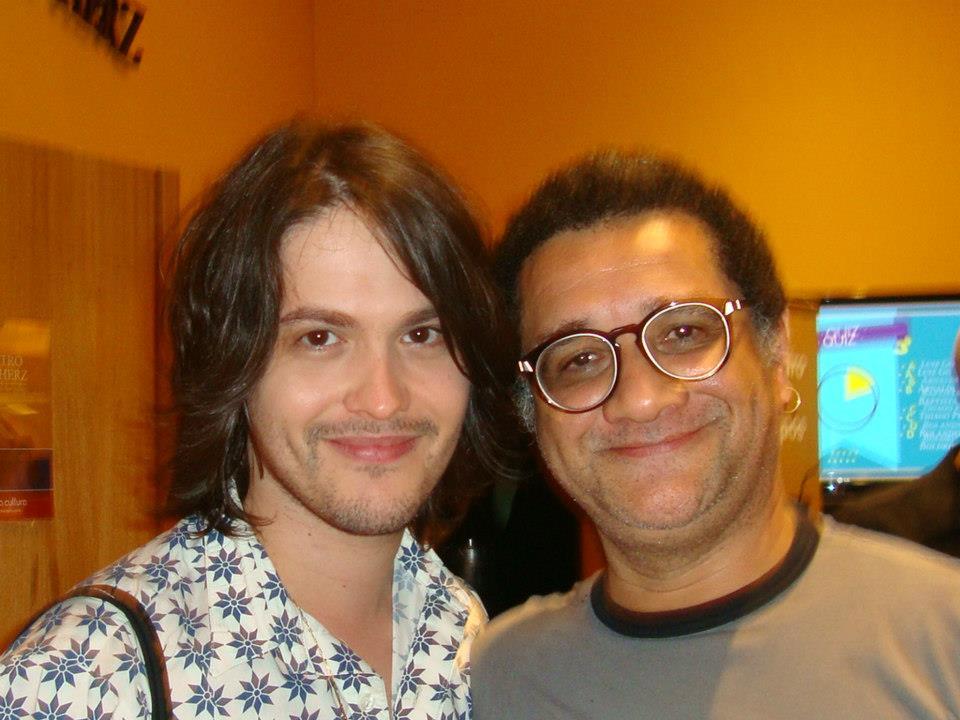 Filipe e Roberto Salazar