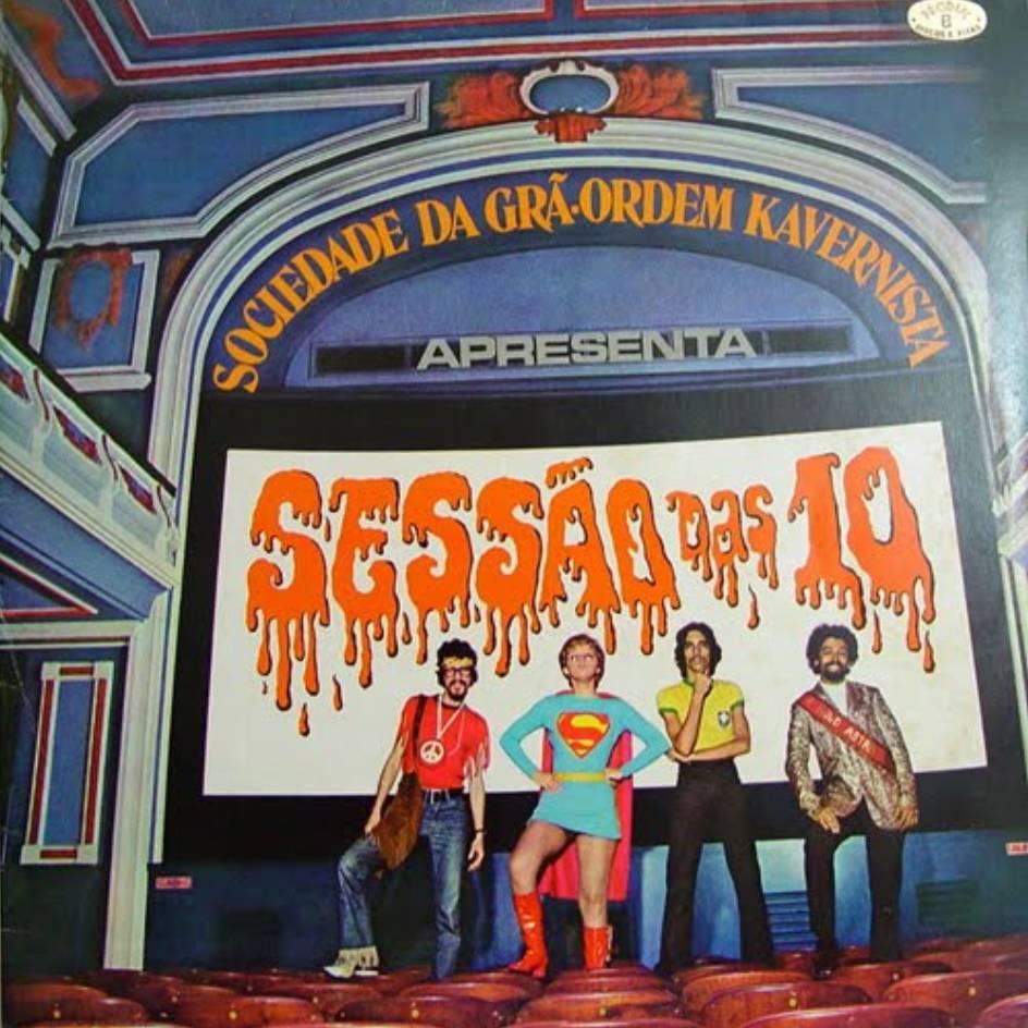 Foto - Edy Star - Sessão das 10. (Com Raul. Sérgio Sampaio e Miriam Batucada).